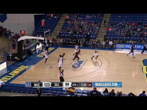 Highlights: Derek Cooke Jr. (22 points)  vs. the 87ers, 2/7/2017