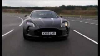 Aston Martin One-77 testing