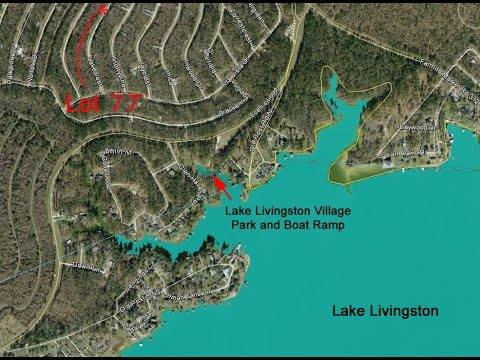 lake livingston village map Lake Livingston Village Section 9 Lot 77 Youtube lake livingston village map