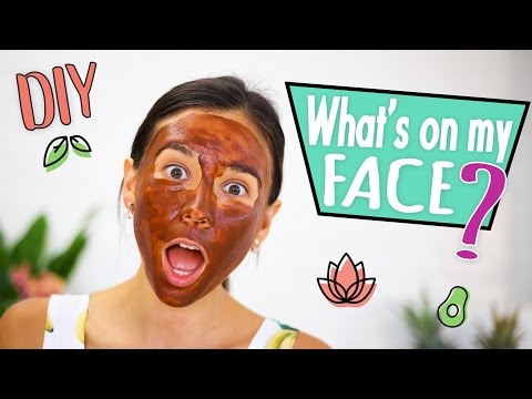 2 INGREDIENT DIY FACE MASKS FOR ACNE AND BLACKHEADS
