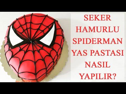 #cakedecorating SPİDERMAN (ÖRÜMCEK...