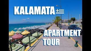 Gambar cover Cost Of Living In Greece | Kalamata Airbnb Apartment Tour