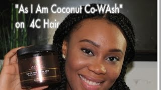 As I am Coconut Co-wash on 4C hair Thumbnail