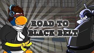 ROAD TO BLACK BELT! (Club Penguin Rewritten LIVE STREAM)