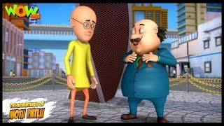 Motu Patlu New Episode | Hindi Cartoons For Kids | Online Interview | Wow Kidz