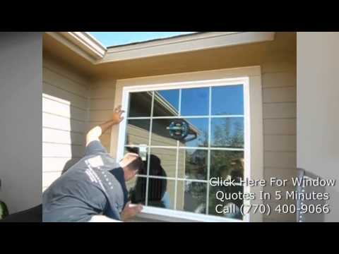 Window Replacement Atlanta | (770) 400-9066 | Vinyl Replacement Windows
