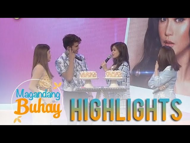 Magandang Buhay: Maris Racal and Iñigo Pascual exchange wishes for each other