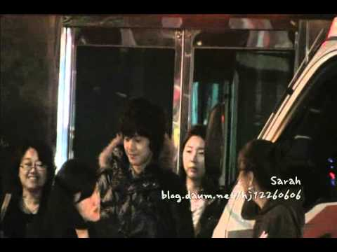 [Fancam] 100929 Kim Hyun Joong after filming