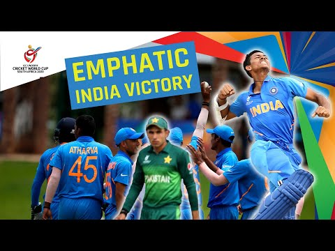 India V Pakistan Under 19 Cricket World Cup Semi-final Montage