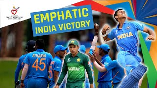 India v Pakistan Under 19 Cricket World Cup semi-final montage