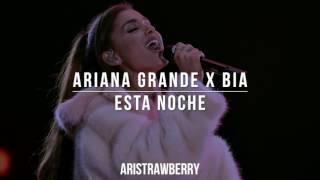 Ariana Grande x Bia - Esta Noche - Dangerous Woman Tour Live | Manchester