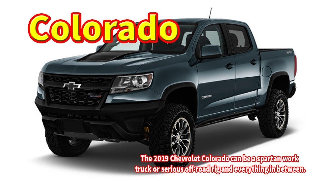 2019 Chevy Colorado Zr2 Off Road 2019 Chevrolet Colorado