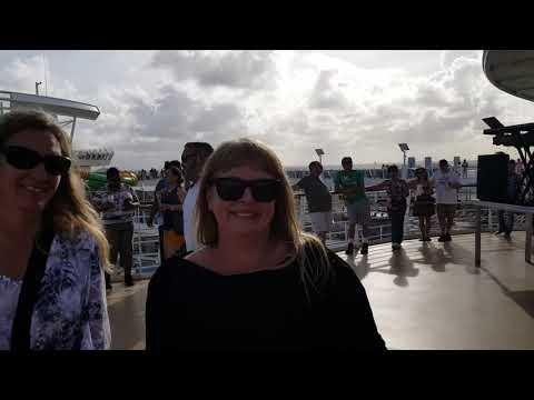 Sail Away Party - Harmony of the Seas - 10/21/2017