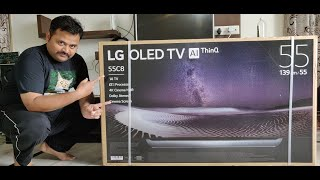 LG C8 55 Inch 4K Cinema HDR OLED TV Unboxing Setup amp Initial Review - The best TV Review