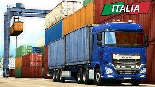THE TOUR BEGINS   ITALIA DLC Euro Truck Simulator 2 - Ep2