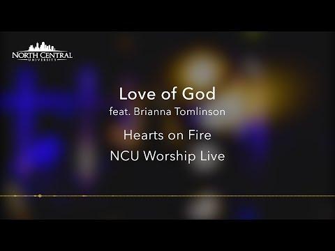 NCU Worship Live  - Love of God - (Official Lyric Video)