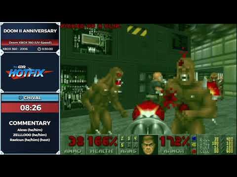 GDQ Hotfix Presents Doom 2 Anniversary