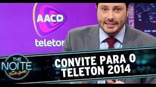 The Noite (05/11/14) - Danilo Gentili convida para o Teleton 2014