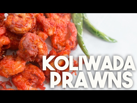 🍤  Prawns KOLIWADA   Spicy Crispy PRAWNS   Kravings