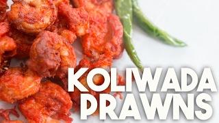 🍤  Prawns KOLIWADA | Spicy Crispy PRAWNS | Kravings