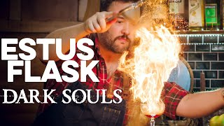Estus Flask from Dark Souls | How to Drink