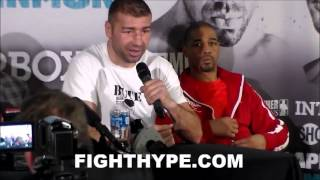 LUCIAN BUTE SAYS HE PROVED HE'S STILL ONE OF THE BEST AT 168; WANTS WINNER OF JACK VS. DEGALE