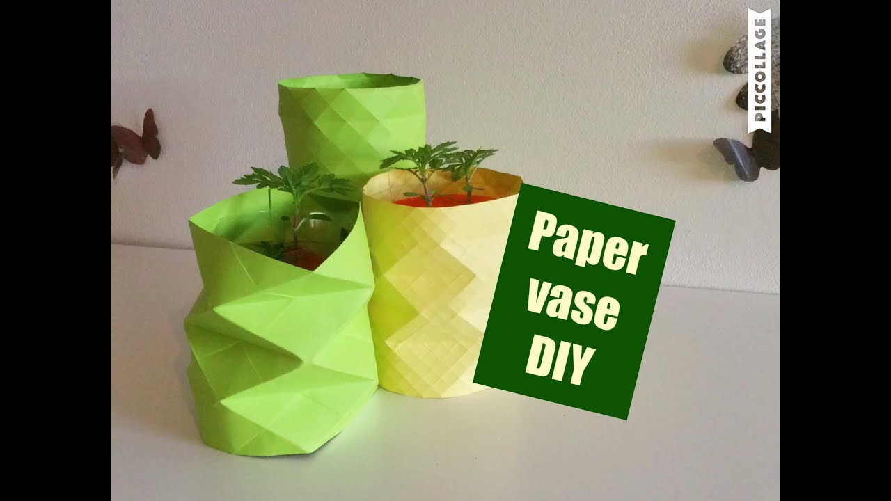 how to make paper vase diy craft vase decoration ideas how to make paper vase diy craft vase decoration ideas flower pot mightylinksfo