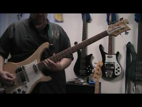 Rickenbacker 4003s5 (5-string bass) Demo