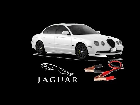 Jumpstart Jaguar s type from under the hood - YouTube