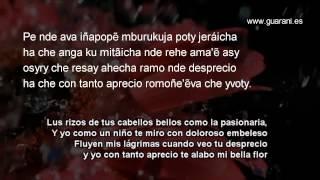 Che Kamba Resa Jajái - Letra en Guaraní y Castellano