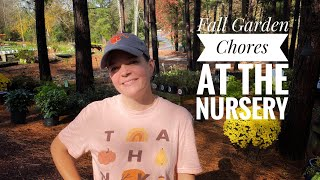Fall Garden Chores At The Nursery // Gardening With Creekside