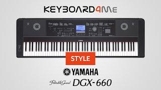 yamaha dgx 660 style akompaniamentw styles keyboard4me pl