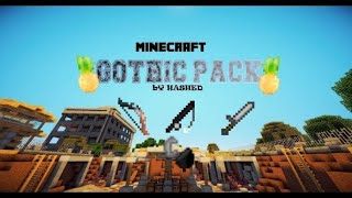 Gothic PvP Texture Pack [8x8] BOOST FPS! ZERO LAG! - BEST NO LAG PVP UHC TEXTURE PACK 2019