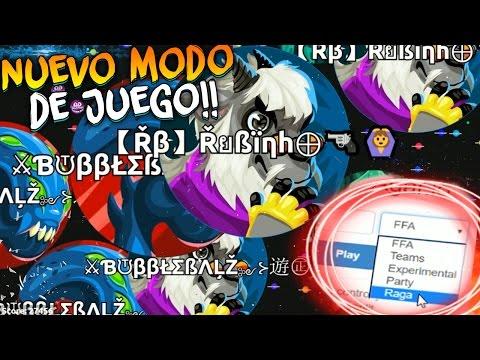 NUEVO MODO De JUEGO En Agar.io!!   Jugando Con 200 Minions   Rubinho Vlc