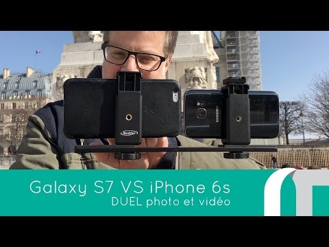 Galaxy S7 Versus iPhone 6S Plus | Duel photo et video