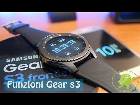 Le funzioni più importanti di Samsung Gear S3 - Androidare ITA