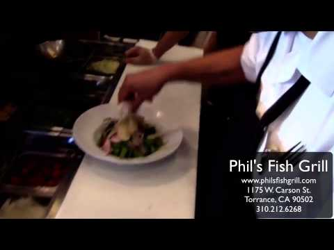 Phil 39 s fish grill fresh seafood daily youtube for Phils fish grill