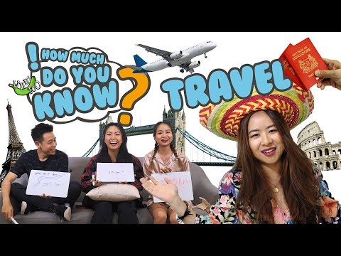 How Much Do You Know - Travel