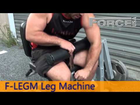 F-LEGM Leg Machine - Leg Extensions & Curls - Force USA Gym Equipment