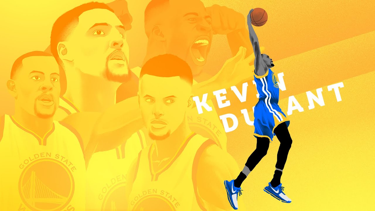 Kevin Durant KD sign with Golden State Warriors - Animation - YouTube