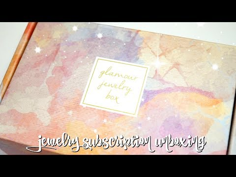 Glamour Jewelry Box Unboxing + CODE for a Bonus Piece