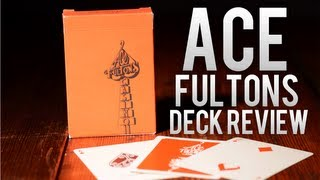 Deck Review - Ace Fulton's Casino Playing Cards - Dan & Dave