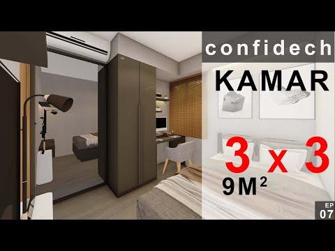 desain-kamar-3x3-modern-minimalis