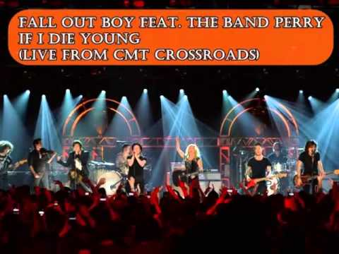 Fall Out Boy feat. The Band Perry - If I Die Young (Live from CMT Crossroads) AUDIO