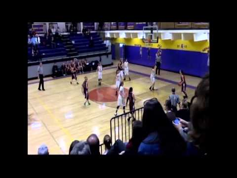 Briana Peterson Basketball Highlight (Soroco High School)