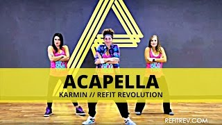 "REFIT® Revolution:  ""Acapella"" by Karmin"