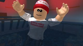 Roblox running away from water..
