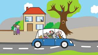 The Byrnes family | Road Trip To Summer |  Education | Animation | Learning