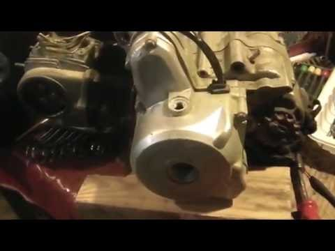 Cam timing a 70cc China ATV Motor, Honda clone motor, - YouTube