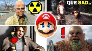 10 Easter Eggs y Secretos mas Tristes en los Videojuegos (PARTE 3)